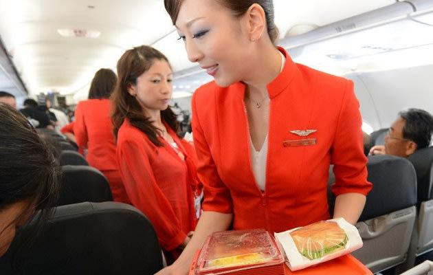 Life of a air stewardess air steward the harsh for Airasia japanese cuisine