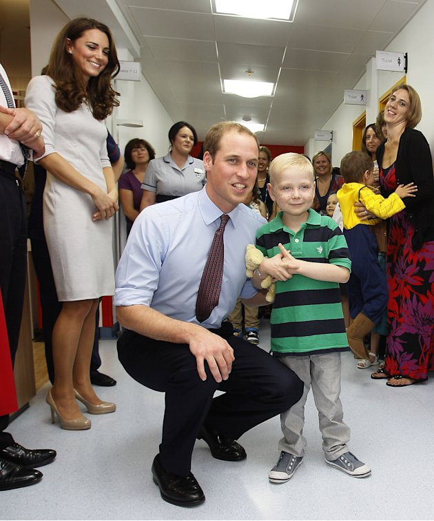 The Duke and Duchess of Cambridge Visit The Royal Marsden Hospital