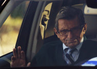 FILE - In this Wednesday, Nov. 9, 2011 file photo, Penn State football coach Joe Paterno arrives home in State College, Pa. On Sunday, Jan. 22, 2012, family says Paterno, winningest coach in major college football, has died. (AP Photo/Matt Rourke)