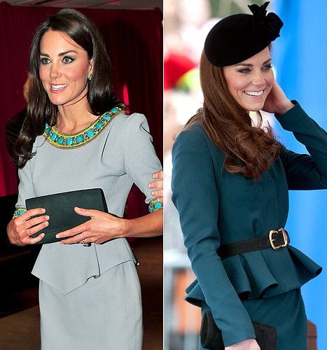 How to Wear a Peplum Skirt Like Kate Middleton