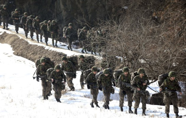 World's ten largest militaries