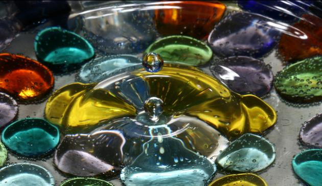 Liquid Drop Art
