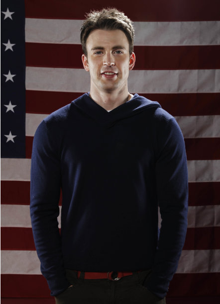 "Actor Chris Evans, from ""Captain America"", poses for a portrait at the LMT Music Lodge during Comic Con in San Diego, Thursday, July 21, 2011. (AP Photo/Matt Sayles)"