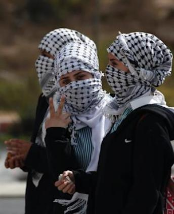 Like other frustrated young Palestinians, the women …