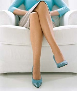 Myth 1: Crossing your legs will give you varicose veins.
