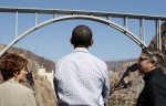 Obama visits Hoover Dam in Nevada