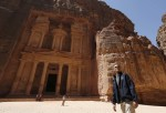 U.S. President Obama takes a walking tour of Petra