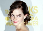 "Cast member Emma Watson arrives for the gala screening of her film ""The Perks of Being a Wallflower"" at the MayFair Hotel in central London"