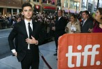 "Actor Efron arrives for the gala presentation of ""The Paperboy"" during the Toronto International Film Festival"