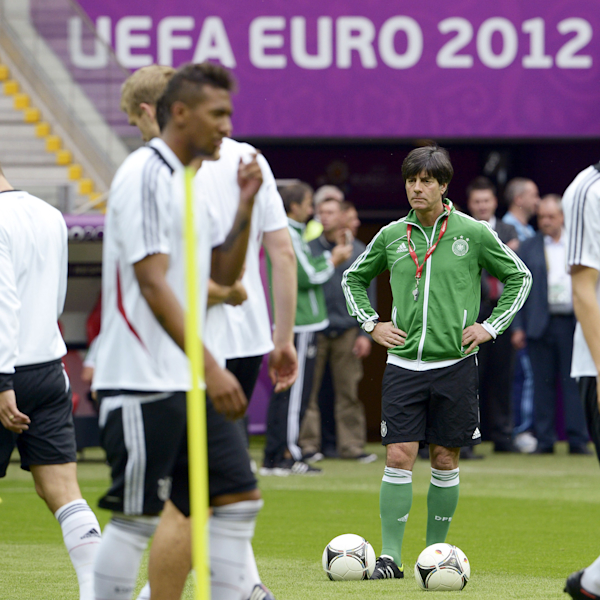 Germany Training and Press Conference - Semi Final: UEFA EURO 2012