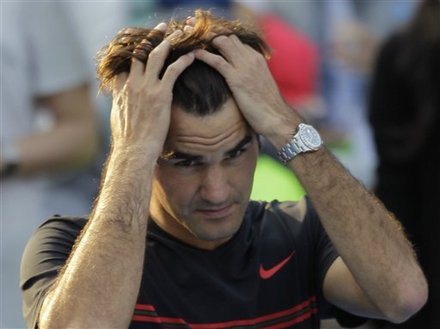 Roger Federer From Switzerland Reacts