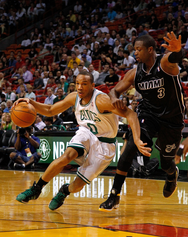 Avery Bradley #0 Of The Boston Celtics Drives