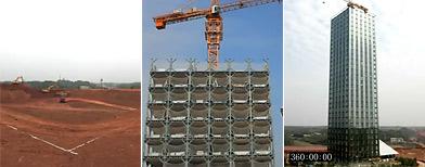 Mirá cómo una constructora china levantó un edificio de 30 pisos en 15 días