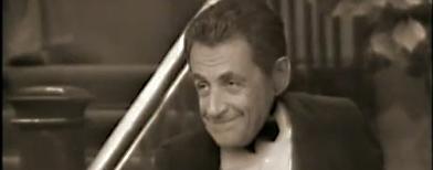Nicolás Sarkozy en un video cómico / Foto: toma de video de YouTube