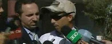 Padre de la nena atropellada en Zárate / Foto: Captura de pantalla de video de c5n