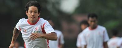 Irfan Bachdim (Antara/Rosa Panggabean)