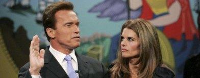 Arnold Schwarzenegger dan Maria Shriver. Foto: Justin Sullivan/ GettyImages