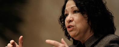 Supreme Court justice Sonia Sotomayor (AP)