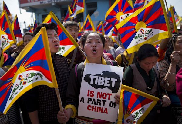 to mark the 57th anniversary of the March 10, 1959, Tibetan Uprising ...