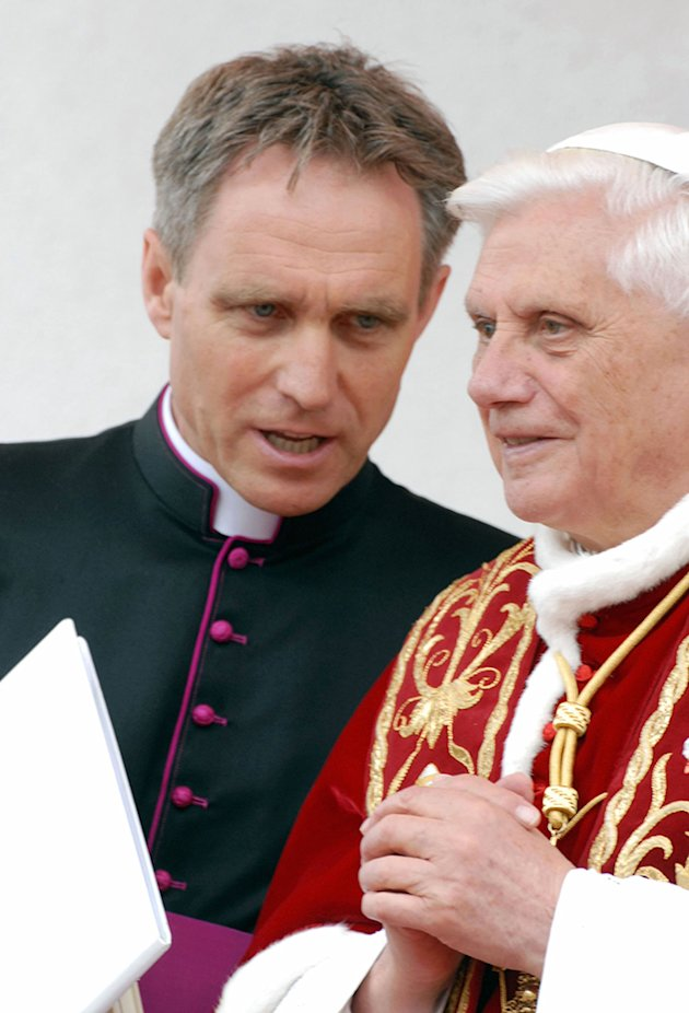 Reverend Georg Gaenswein  the private secretary to Benedict XVI