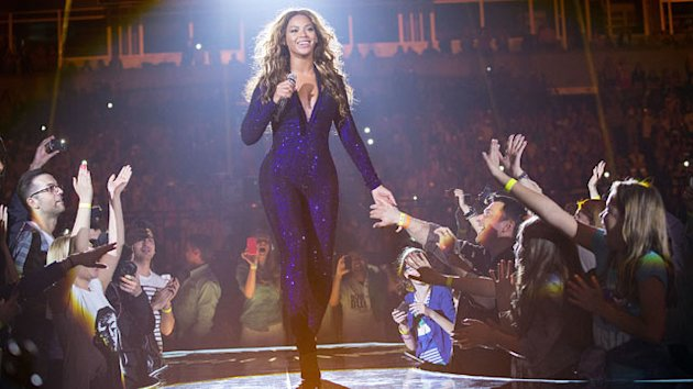 Beyonce Hits Stage in Eye-Catching Costumes (ABC News)