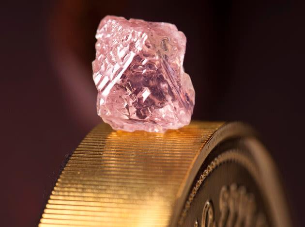 Huge rare pink diamond found in Australia