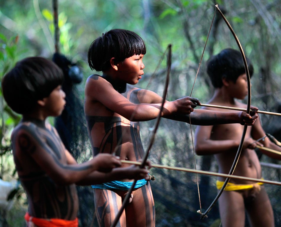 Life with the Yawalapiti Tribe …