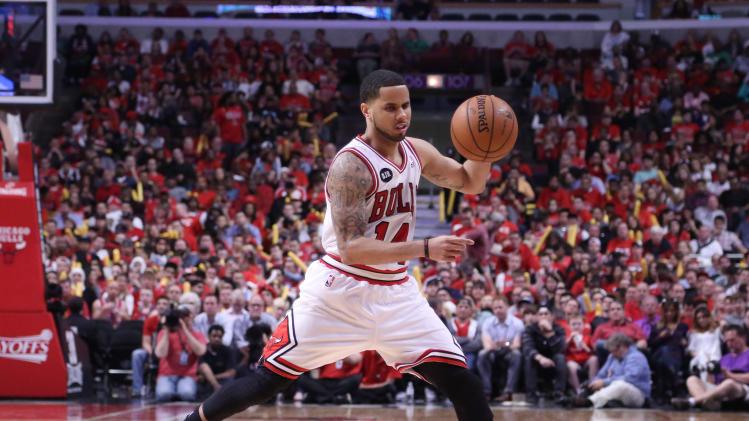 NBA: Playoffs-Washington Wizards at Chicago Bulls