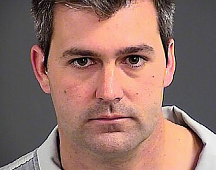 Fired officer Michael Slager is being held without bond for the fatal shooting of Walter Scott. (Charleston County Jail)