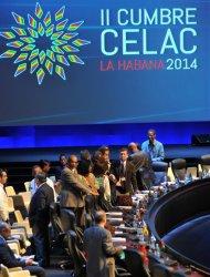 Registro de la Reunión de Coordinadores Nacionales de la II Cumbre CELAC, este sábado en La Habana (Cuba). EFE