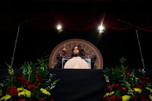 First lady Michelle Obama speaks during the Tuskegee …