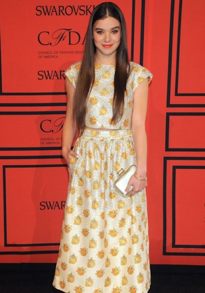 CFDA AWARD 2013 red carpet Hailee Steinfeld