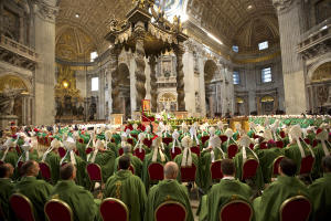 Pope Francis celebrates a Mass to mark the end of the …