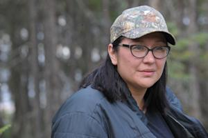 Mandy Gull, deputy chief of the Cree First Nation of…