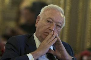 Spain's Foreign Minister Jose Manuel Garcia-Margallo …