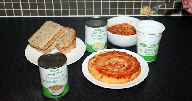 5 meals for less than 50p