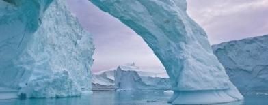 Lapisan es di Greenland (Foto: AFP)