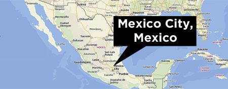 Map of Mexico (Nokia/Yahoo!)