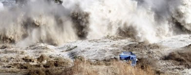 Tsunami (Foto: AFP)