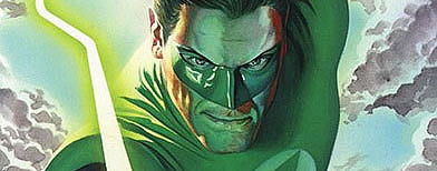Green Lantern, one of America's most enduring comic book characters, is turning rainbow-colored. (AFP Photo)