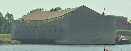 Life-sized Noah's Ark finally finished (TK)