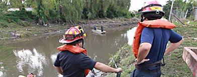 Aún sigue en duda la cantidad de muertos por el temporal en La Plata./Foto: La Nación.