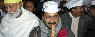Kejriwal takes oath as CM