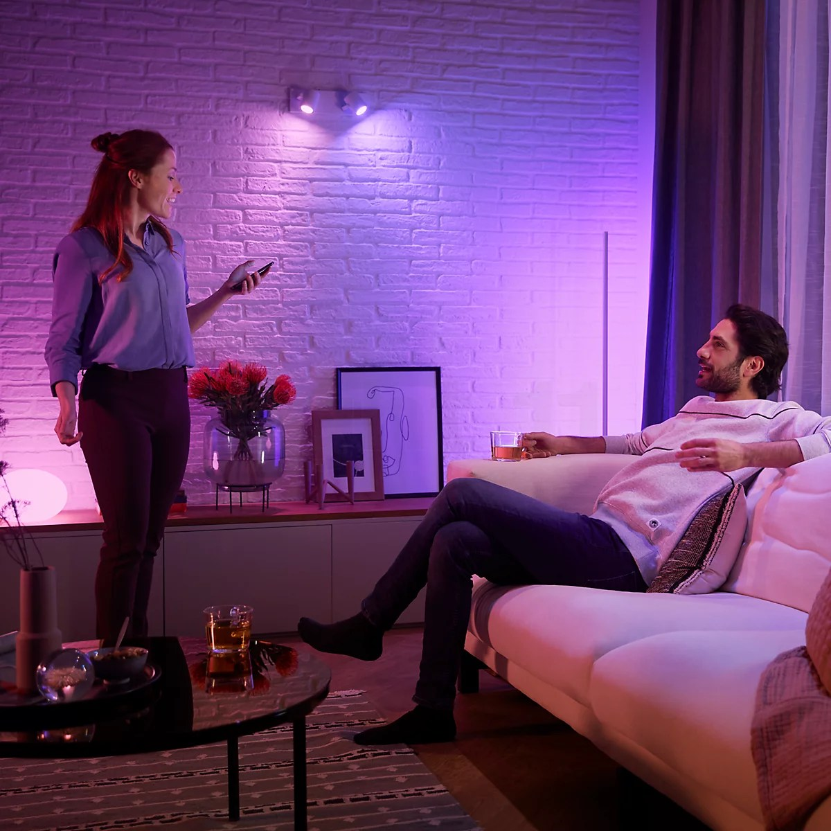 philips hue white and color ambiance argenta 2 foyers