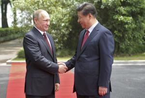 Uneasy alliance on display as Russian, Chinese leaders…