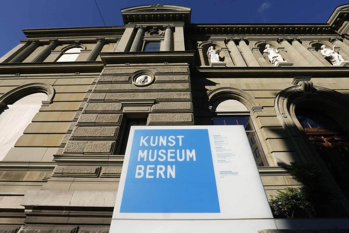 File picture showing the facade of the Kunsmuseum Bern art museum in Bern