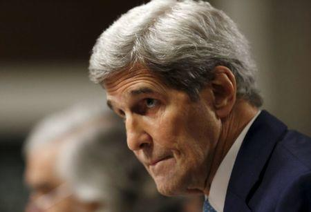 US Secretary of State Kerry appears before Senate Foreign Relations Committee in Washington