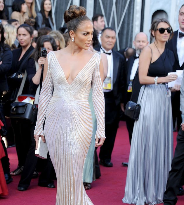 Did her dress slip