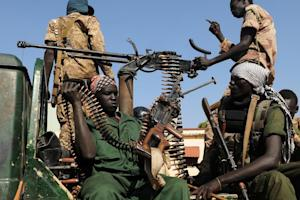 South Sudanese People's Liberation Army (SPLA soldiers …