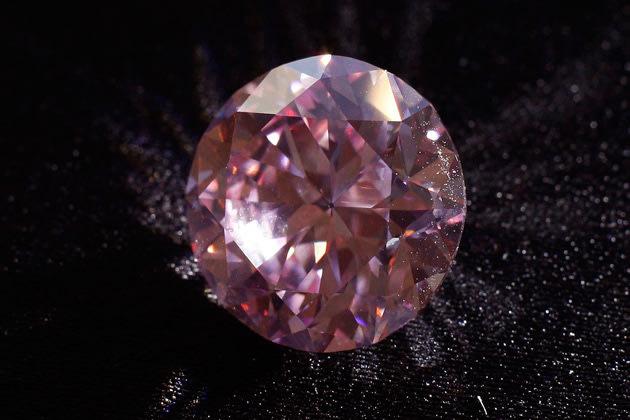 Rare Martian Pink diamond sold for $17.4 million